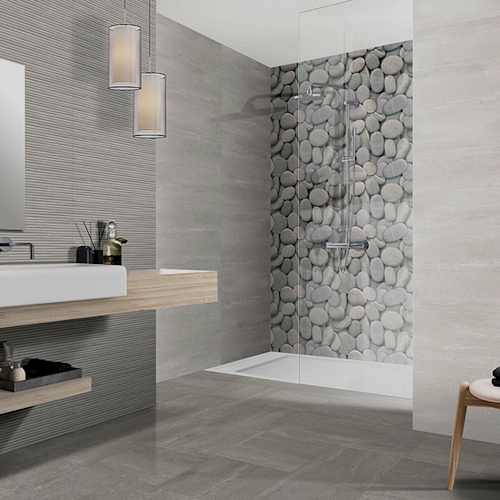 "AREZZO Ceramic Tiles 8"" x 20"" for floors and walls"