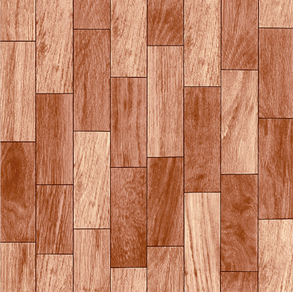 Parket Ceiba wood tile.