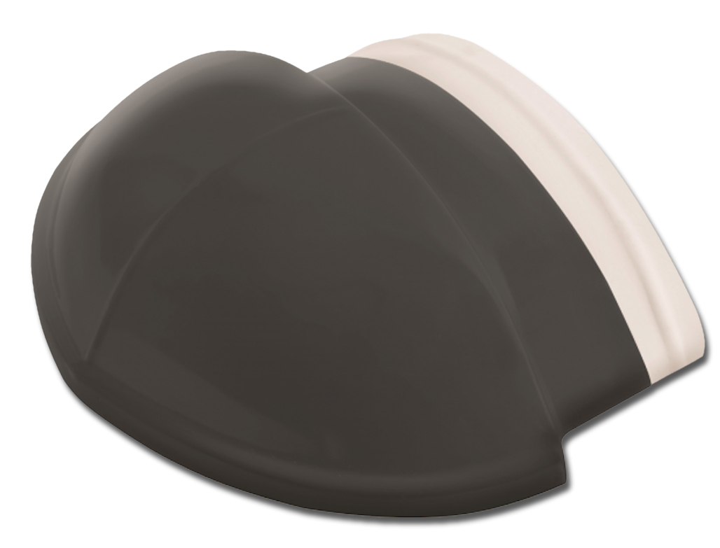 WAVE CHARCOAL ROOF TERMINAL TILE