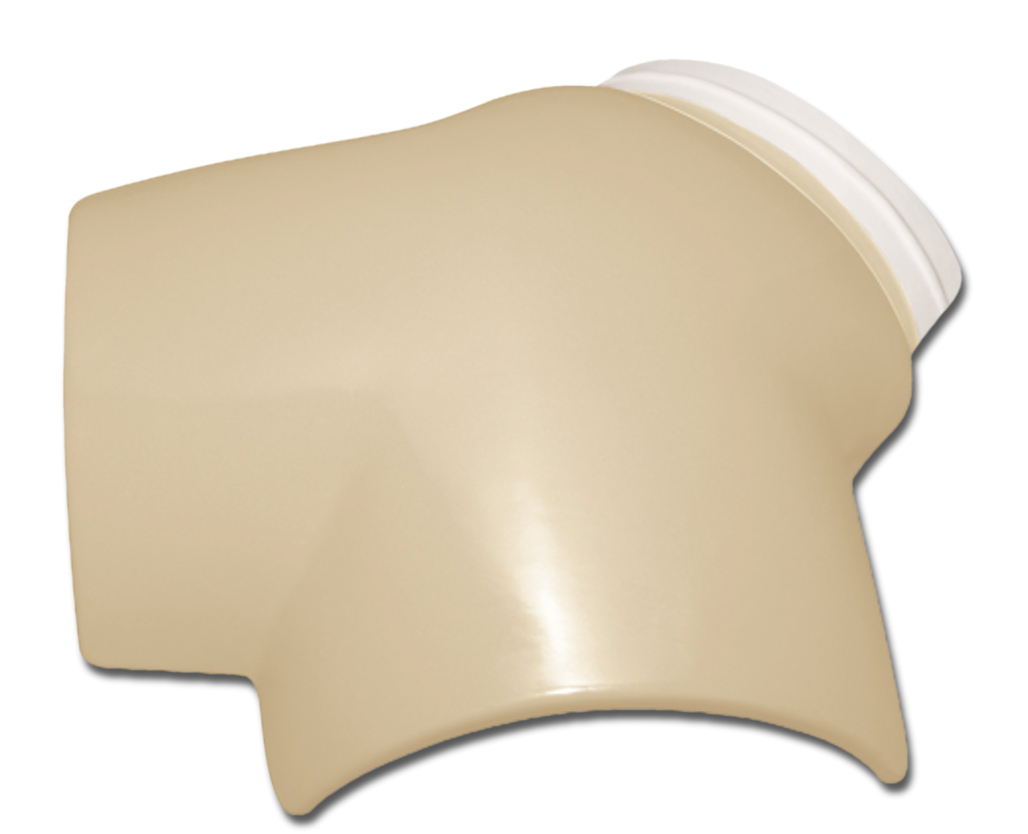 WAVE IVORY 3 WAY ROOF TILE TERMINAL