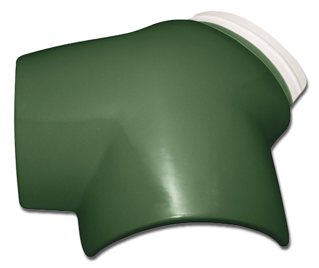 WAVE GREEN 3 WAY ROOF TILE TERMINAL